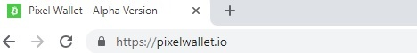 Pixel Wallet - Alpha Version