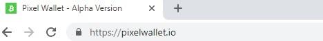 Pixel Wallet - Alpha Version